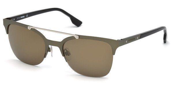 Diesel Herren Sonnenbrille » DL0215«, grün, 97G - grün/braun