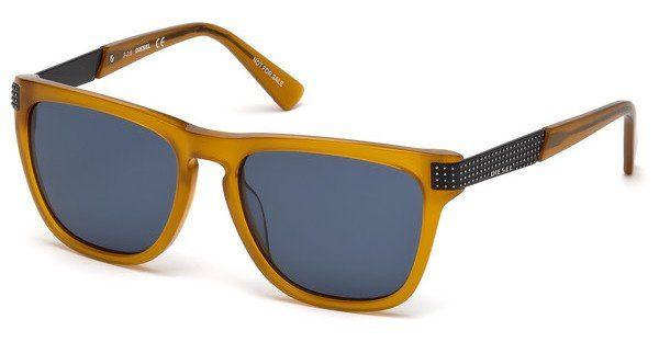 Diesel Herren Sonnenbrille » DL0236«, braun, 52N - braun/grün