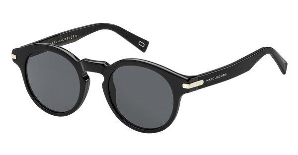 MARC JACOBS Marc Jacobs Herren Sonnenbrille » MARC 184/S«, schwarz, 807/IR - schwarz/grau