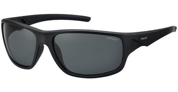 Polaroid Herren Sonnenbrille » PLD 7010/S«, schwarz, OIT/EX - schwarz/ silber