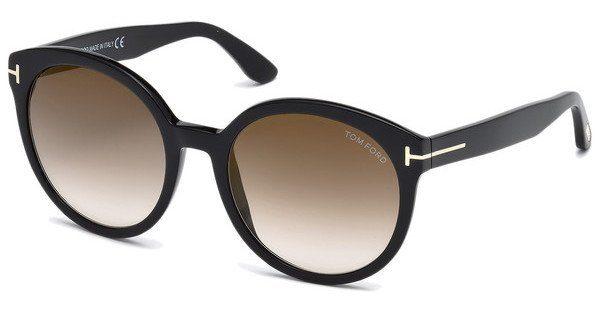 Tom Ford Sonnenbrille »Philippa FT0503«, braun, 52F - braun/braun