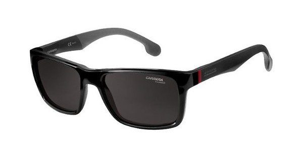 Carrera Eyewear Herren Sonnenbrille » CARRERA 8024/S«, schwarz, 003/IR - schwarz/grau