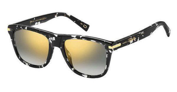 MARC JACOBS Marc Jacobs Herren Sonnenbrille » MARC 185/S«, grau, LLW/T5 - grau/grün