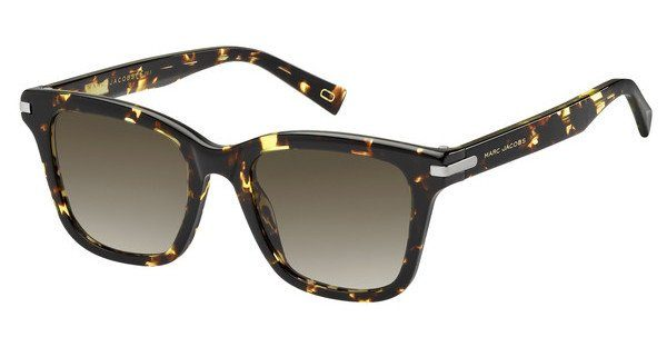 MARC JACOBS Marc Jacobs Damen Sonnenbrille » MARC 218/S«, weiß, YRC/9O - weiß/grau