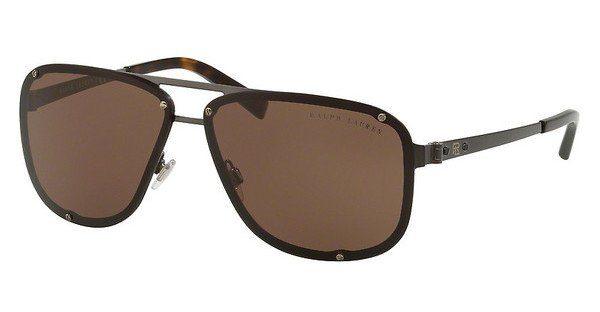 Ralph Lauren Herren Sonnenbrille » RL7055«, grau, 915773 - grau/braun