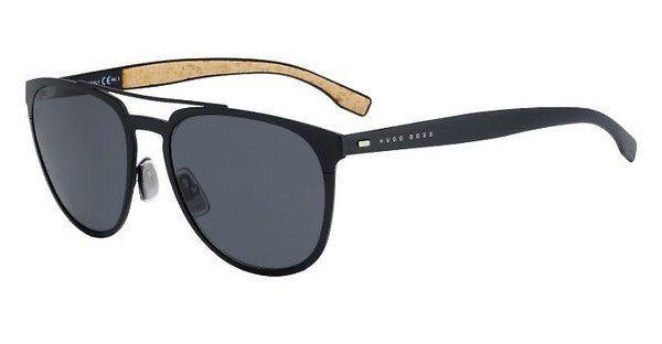 Boss Herren Sonnenbrille » BOSS 0882/S«, blau, 0S4/HD - blau/grau