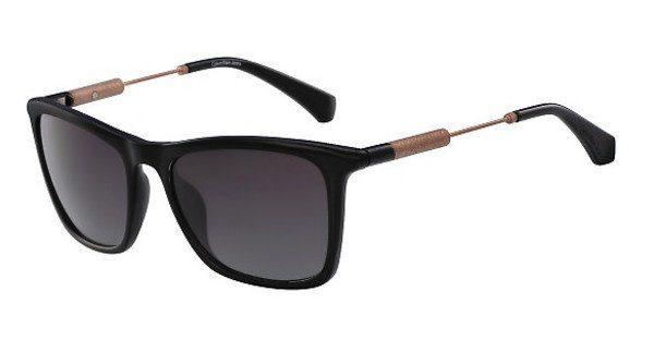 Calvin Klein Damen Sonnenbrille » CKJ490S«, schwarz, 001 - schwarz