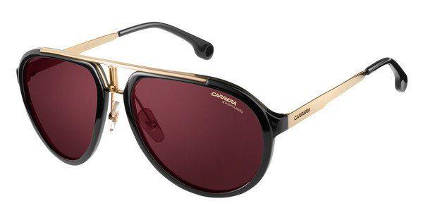 Carrera Eyewear Sonnenbrille » CARRERA 1003/S«, schwarz, 2M2/W6 - schwarz/rot