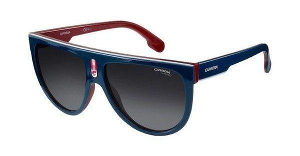 Carrera Eyewear Sonnenbrille » CARRERA FLAGTOP«, blau, 8RU/9O - blau/grau