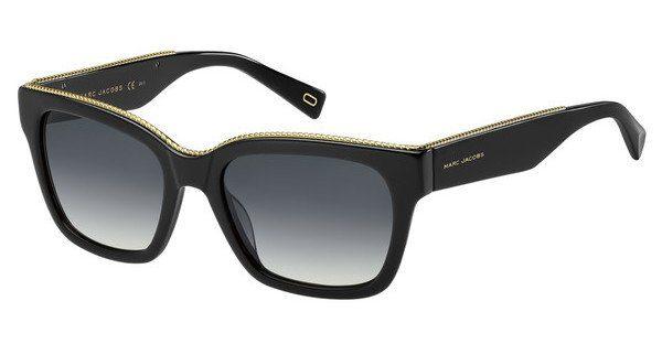MARC JACOBS Marc Jacobs Damen Sonnenbrille » MARC 163/S«, schwarz, 807/9O - schwarz/grau