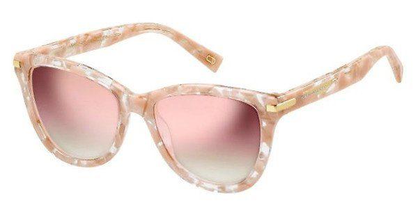 MARC JACOBS Marc Jacobs Damen Sonnenbrille » MARC 187/S«, weiß, AHF/VQ - weiß/rosa