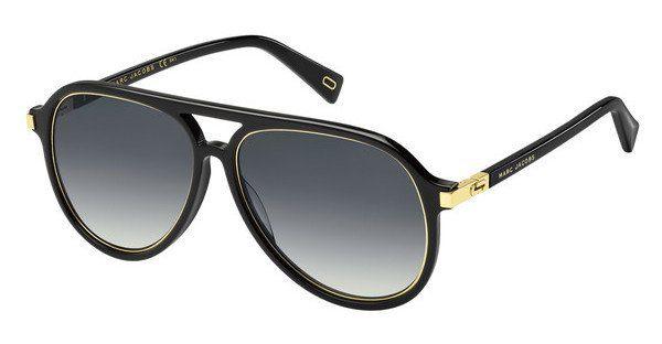 MARC JACOBS Marc Jacobs Herren Sonnenbrille » MARC 174/S«, schwarz, 284/IR - schwarz/grau