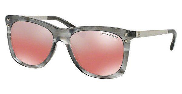 Michael Kors Sonnenbrille Mk2047 UV 400, braun/grau schwarz