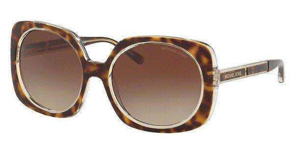 Michael Kors Sonnenbrille Mk2050, UV 400, dunkelgrau/braun