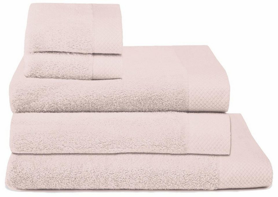 rosa handtücher
