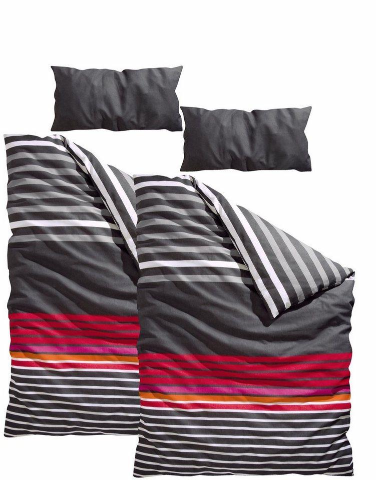 bettw sche gestreift online kaufen otto. Black Bedroom Furniture Sets. Home Design Ideas