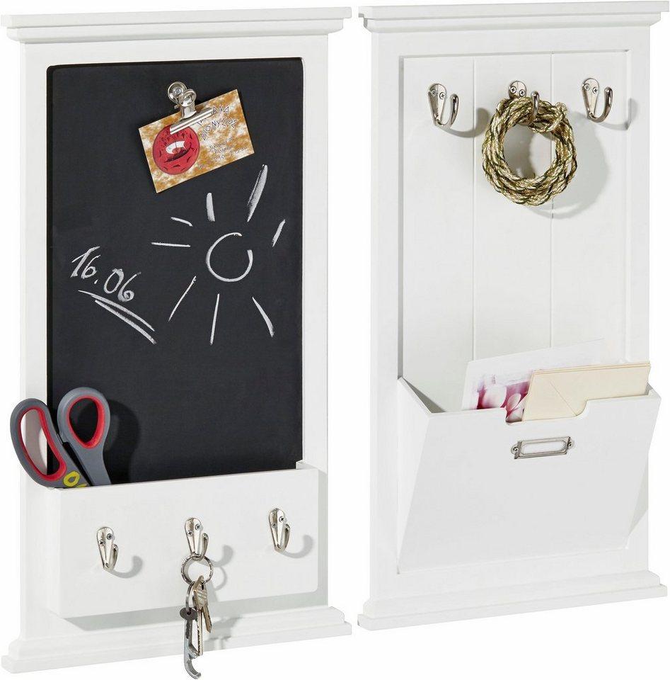 home affaire notiztafel und briefhalter im set otto. Black Bedroom Furniture Sets. Home Design Ideas
