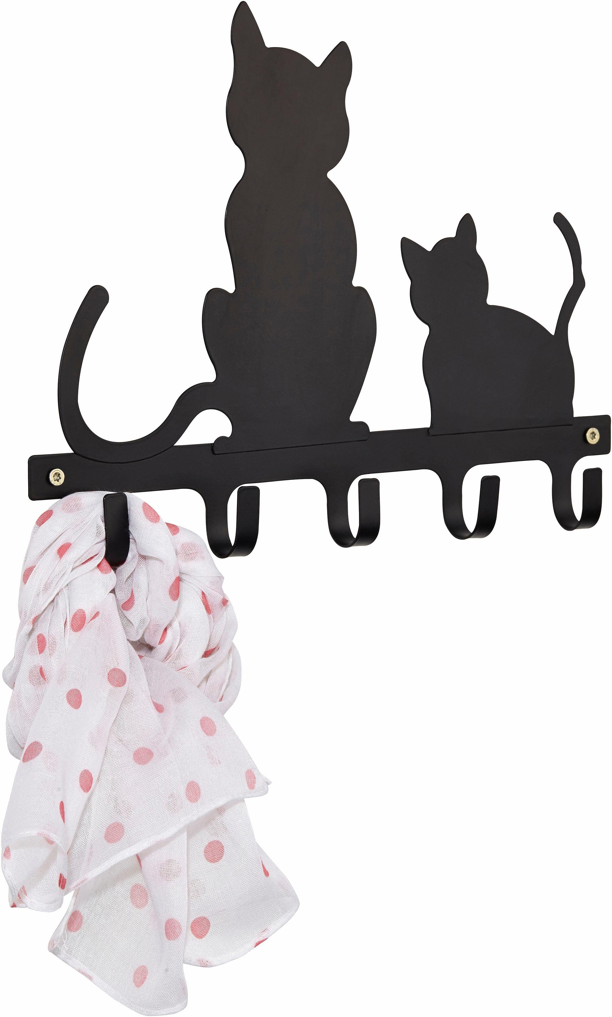 Home affaire Hakenleiste »Katzen«