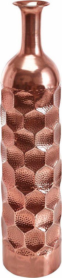 Home affaire Bodenvase   Dekoration > Vasen > Bodenvasen   Braun   Metall   Home Affaire