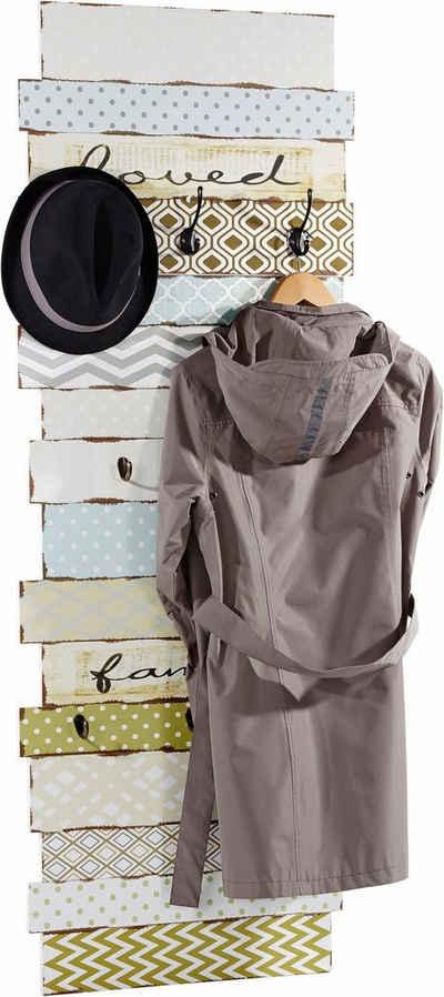 Home affaire Garderobe mit 8 Kleiderhaken