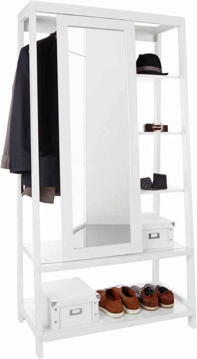 Home affaire Garderobe mit Spiegel-Schiebetür