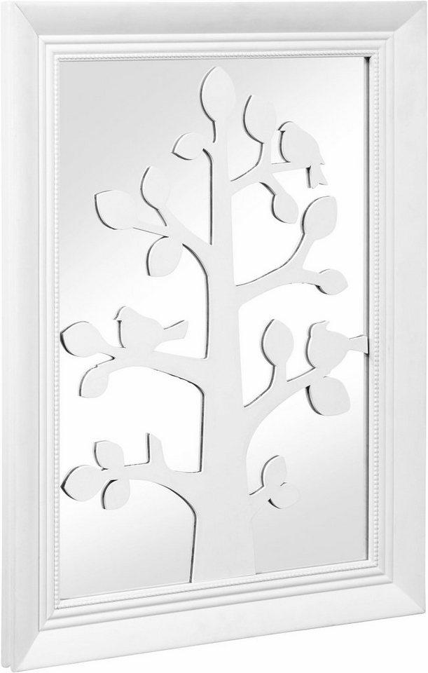 Wanddeko Spiegel home affaire wanddeko spiegel mit baum kaufen otto