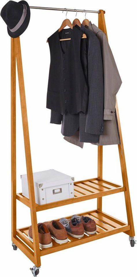 home affaire kleiderst nder auf rollen kaufen otto. Black Bedroom Furniture Sets. Home Design Ideas