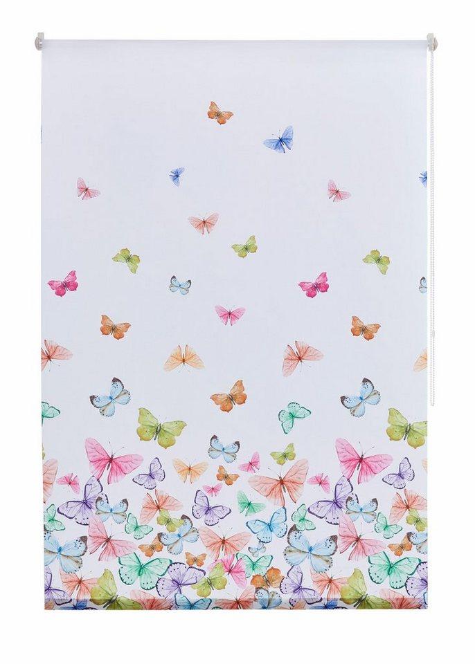 seitenzugrollo butterfly home affaire collection lichtschutz klemmfix kettenzug online. Black Bedroom Furniture Sets. Home Design Ideas