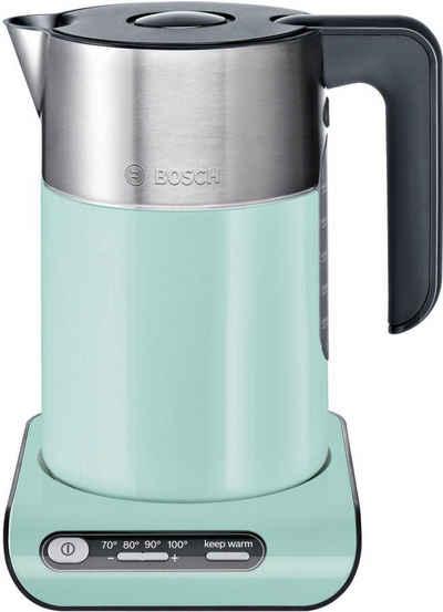 BOSCH Wasserkocher Styline TWK8612P, 1,5 l, 2400 W