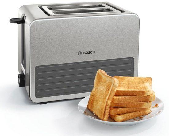 BOSCH Toaster TAT7S25, für 2 Scheiben, 1050 W