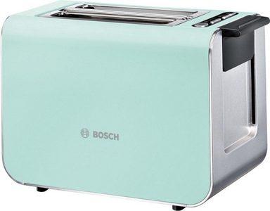 bosch toaster styline tat8612 f r 2 scheiben 860 w mint turquoise black grey online kaufen otto. Black Bedroom Furniture Sets. Home Design Ideas