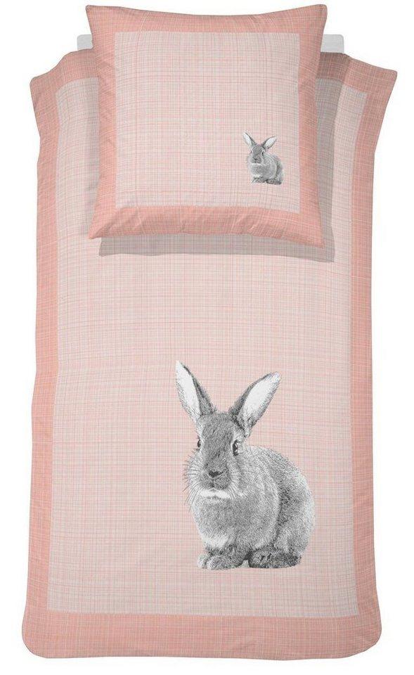 kinderbettw sche damai le lapin mit tiermotiven. Black Bedroom Furniture Sets. Home Design Ideas