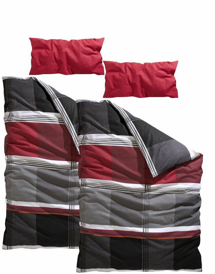 bettw sche my home elanus mit modernen farben otto. Black Bedroom Furniture Sets. Home Design Ideas