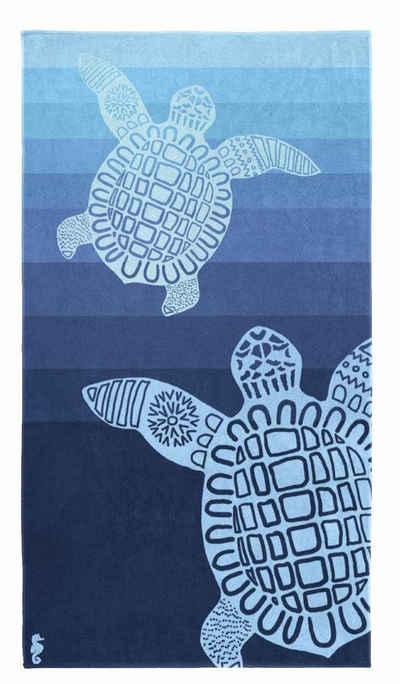 Seahorse Strandtuch »Turtle« (1-St), mit Schildkröten Motiv