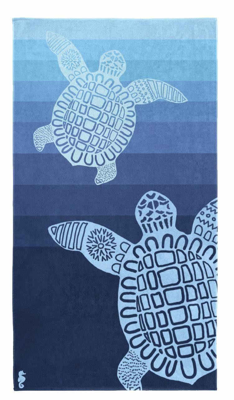 Handtuch »Turtle«, Seahorse, mit Schildkröten Motiv