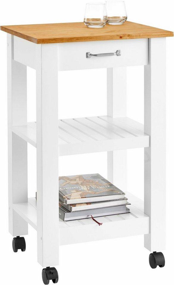 home affaire k chenwagen auf rollen breite 50 cm otto. Black Bedroom Furniture Sets. Home Design Ideas