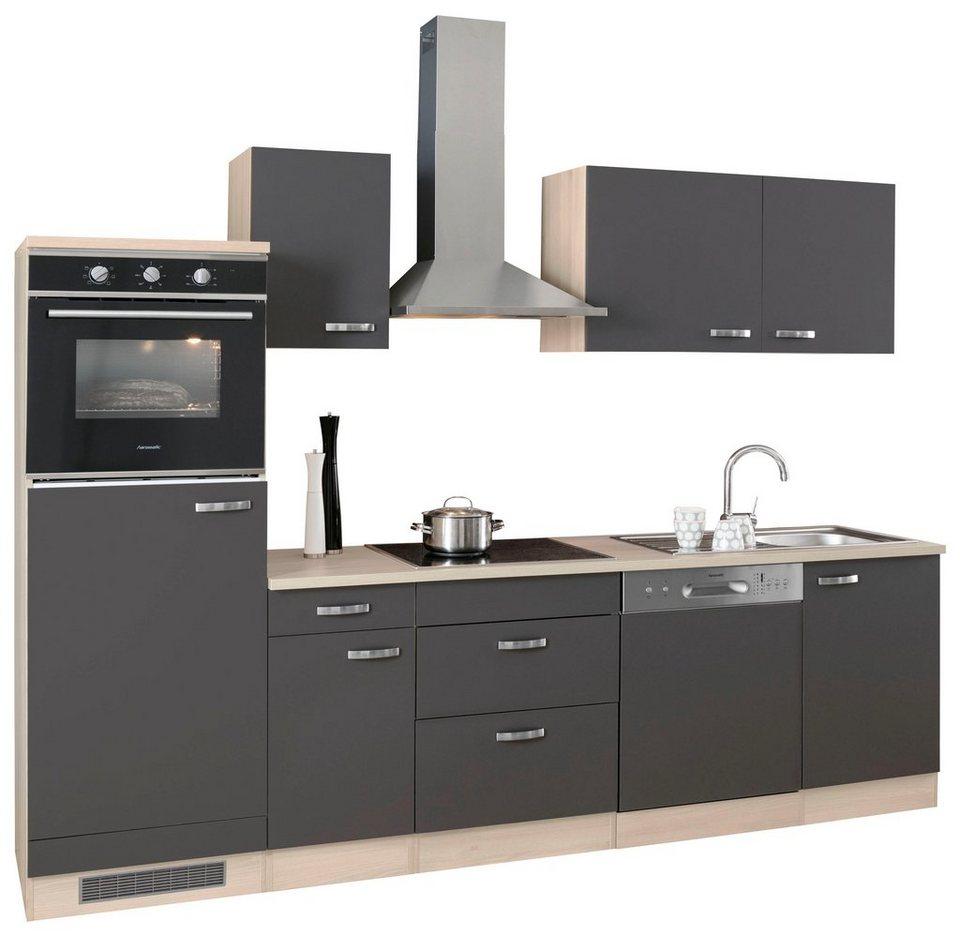 Optifit Küchenzeile Ohne E Geräte Faro Breite 270 Cm Mit 28 Mm