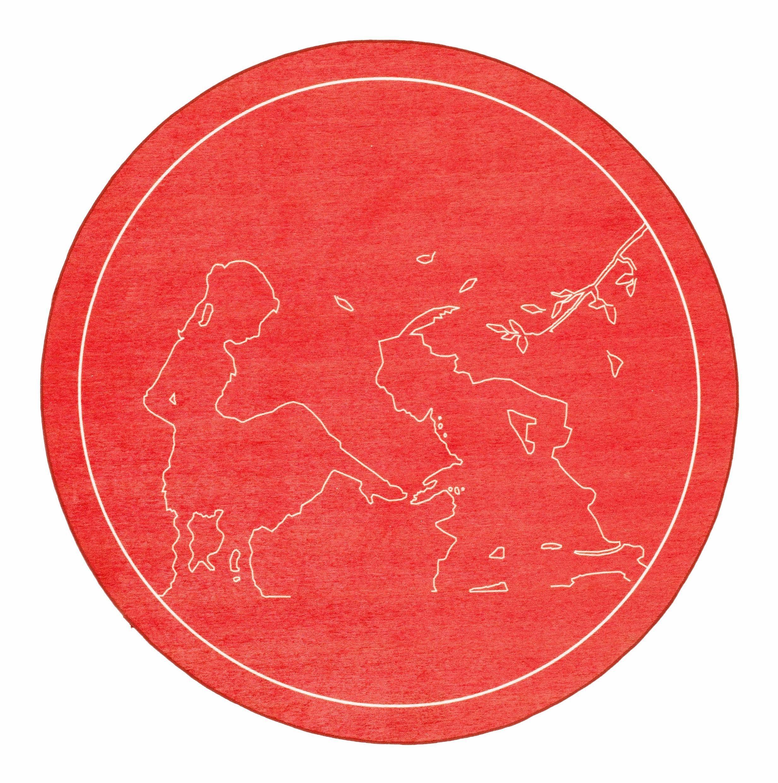 Kinderteppich »Märchen 5«, grimmliis, rund, Höhe 2 mm, Flachgewebe