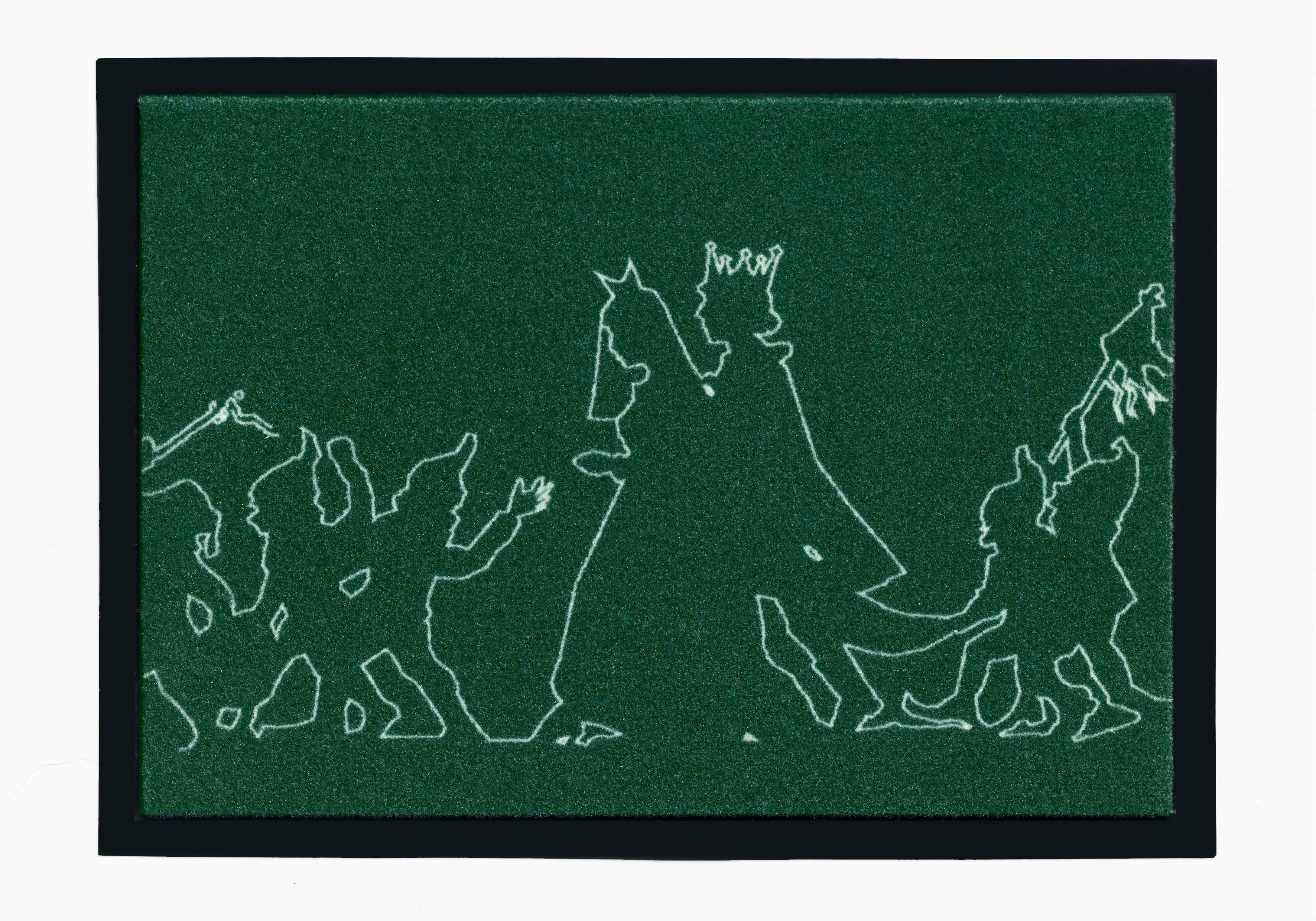 Fußmatte »Märchen 3«, grimmliis, rechteckig, Höhe 2 mm, rutschhemmend beschichtet