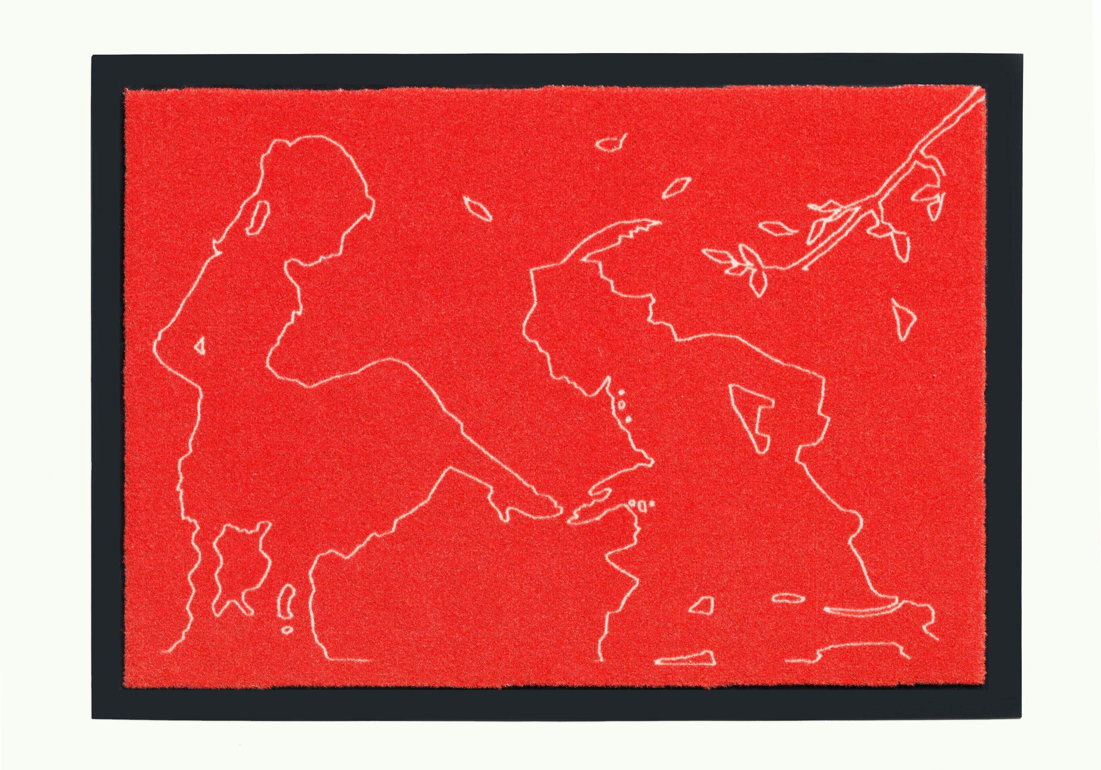 Fußmatte »Märchen 5«, grimmliis, rechteckig, Höhe 2 mm, rutschhemmend beschichtet
