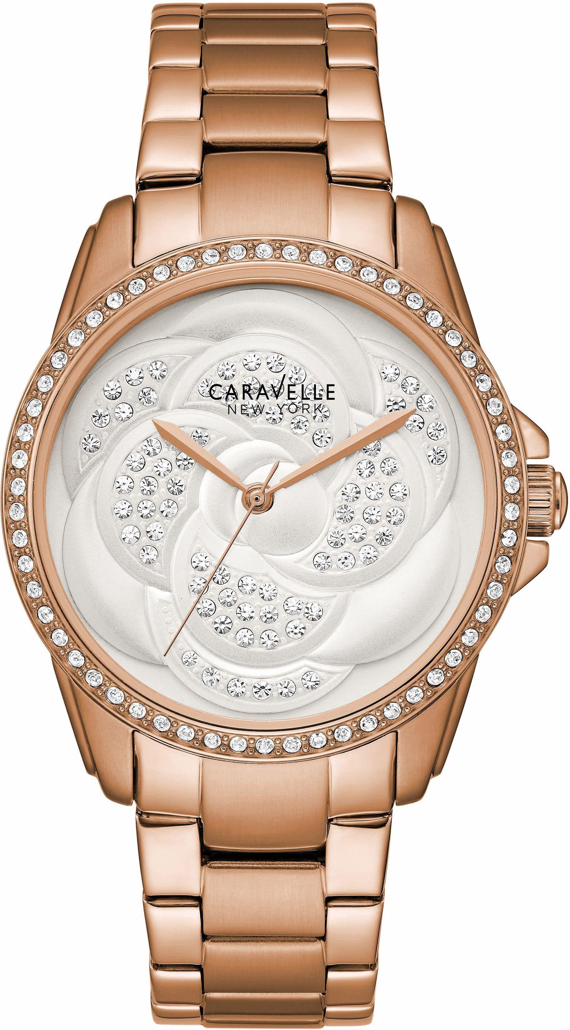 Caravelle New York Quarzuhr »Boyfriend, 44L233«