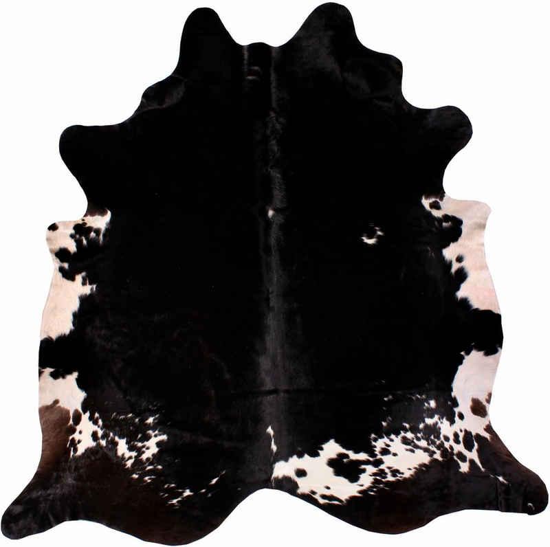 Fellteppich »Rinderfell 4«, LUXOR living, fellförmig, Höhe 3 mm, echtes Rinderfell, Naturprodukt - daher ist jedes Rinderfell ein Einzelstück, Wohnzimmer