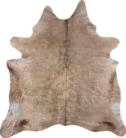 Fellteppich »Rinderfell 3«, LUXOR living, tierfellförmig, Höhe 3 mm, echtes Rinderfell