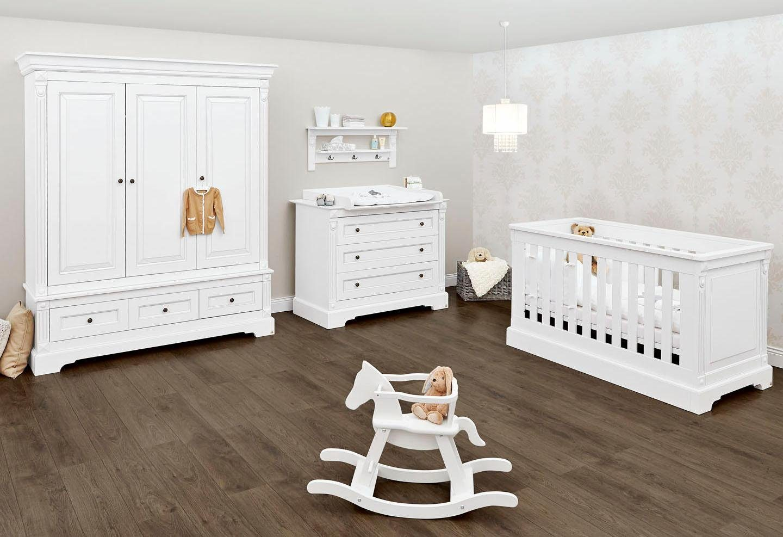 Pinolino Babyzimmer Set, Kinderzimmer »Emilia« breit groß (3-tlg.)