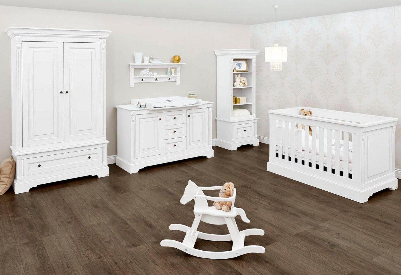 Pinolino Babyzimmer Set, Kinderzimmer »Emilia« extrabreit (3-tlg.) | Kinderzimmer > Babymöbel > Komplett-Babyzimmer | Weiß | Mdf | Pinolino®