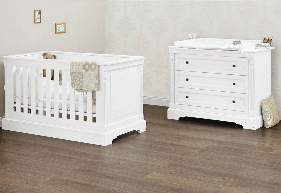 pinolino babyzimmer sparset »emilia« breit (2-tlg.) online kaufen