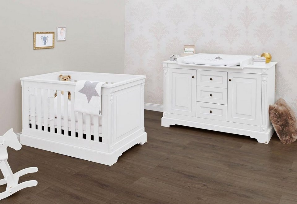 pinolino babyzimmer sparset emilia extrabreit 2 tlg. Black Bedroom Furniture Sets. Home Design Ideas