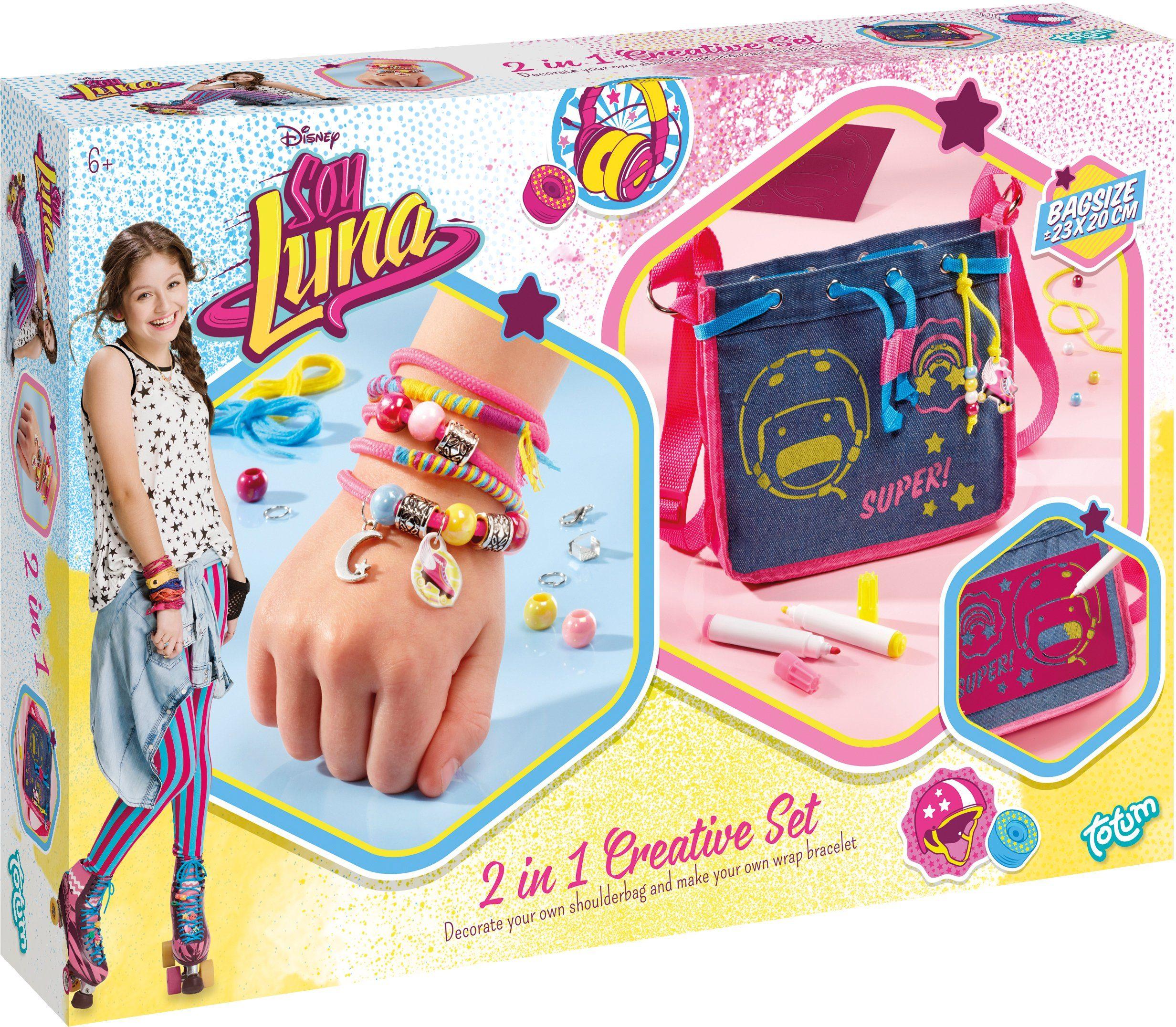 totum Kreativset, »Disneys Soy Luna 2 in 1 Schmuck und Tasche«
