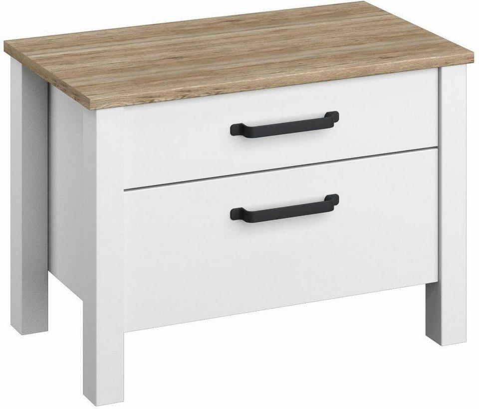 rauch dialog nachttisch wahlweise als 2er set breite 58 cm online kaufen otto. Black Bedroom Furniture Sets. Home Design Ideas