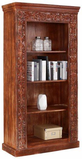 Home affaire Regal »Marco«, mit dekorativen Fräsungen, Höhe 180 cm